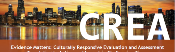 Attending the Fourth International Center for Culturally Responsive Evaluation and Assessment Conference